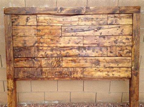 how to make a rustic headboard diy rustic headboard diy for the home pinterest
