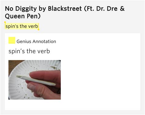 spin s the verb no diggity by blackstreet