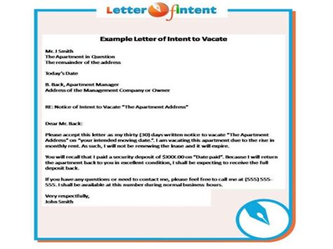 Letter Of Intent Format For Efps Letter Of Intent Exle