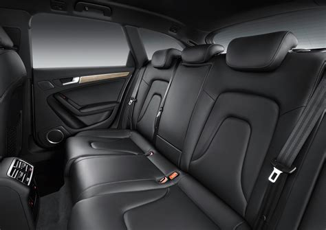 Leather Interiors by 2013 Audi A4 Allroad Black Leather Interior