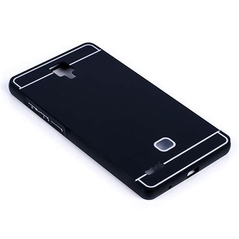 Aluminium Tempered Glass For Xiaomi Mi4s Blackblack 1 aluminium frame protection bumper cover xiaomi redmi