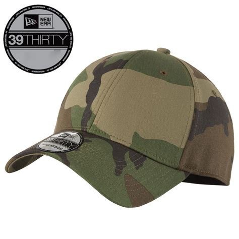 new era 39thirty new era 39thirty blank stretch cotton fitted camo hat cap
