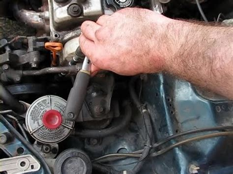 Tensioner Fanbelt Crv Accord Dan Civic ntoobe 2 simple way to tension ac belt on honda civic 1996