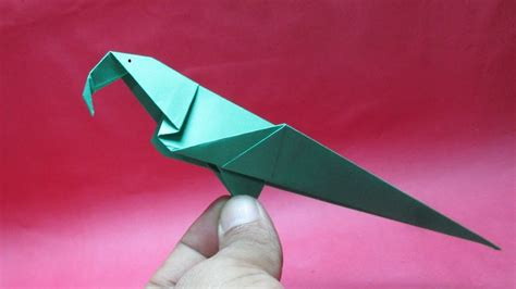 Make Paper Bird - origami bird how to make paper bird easy