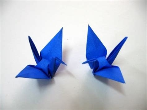 Origami Crane For Beginners - origami crane tutorial easy simple step by step