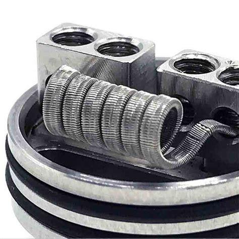 Kawat Wire Fused Clapton Nichrome 80 Ni80 No Khantal Ss Niklin Coil 16ft vapeyaya 4 parallel fused clapton coil ni80 roll