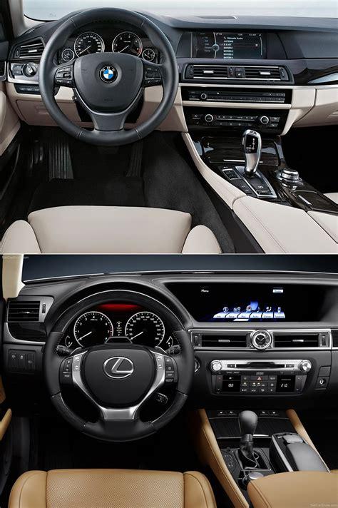 Lexus Gs Vs Bmw 5 Series by Photo Comparison Bmw 5 Series Vs 2013 Lexus Gs 350