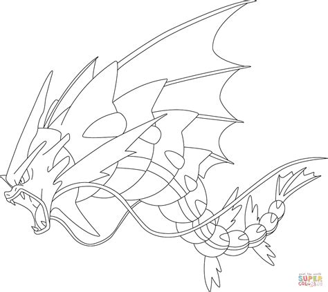 pokemon coloring pages magikarp gyarados coloring pages