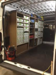 work truck shelving ram promaster racking project work trucks vans