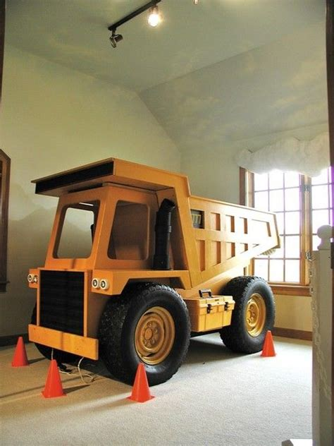 truck room dump truck project bed for liam liam dump trucks bedrooms and room