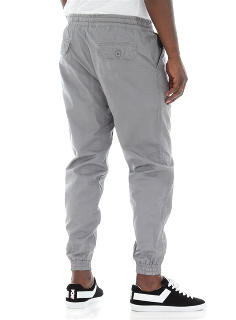 Jehfashion S Basic Jogger With Side List Zipper Kurtie ablanche s basic twill jogger ebay
