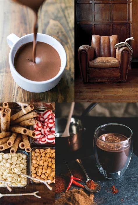 chocolate and mood swings moodboard hot chocolate elements