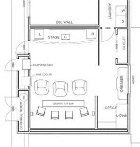 Small Home Theater Plans Small Home Theater Theater Floor Plans 5000 House