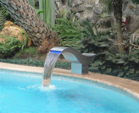 pool waterfall ideas unusual swimming pool design ideas outdoortheme com
