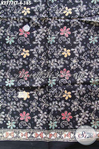 Batik Cap Halus 4 batik terbaru motif keren dasar hitam proses cap