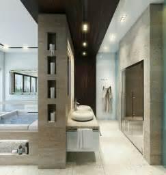 salle de bain de luxe et originale design feria