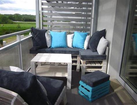 terrasse modern einrichten mit palettenm 246 bel wei 223 freshouse