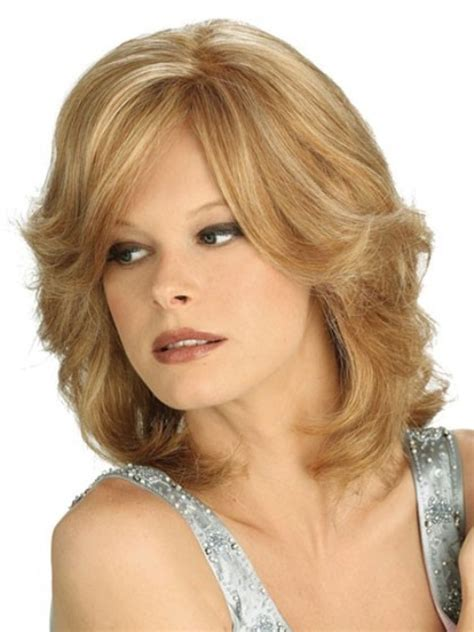 medium length layered hairstyles for over 40 wigs for women over 40 short hairstyle 2013