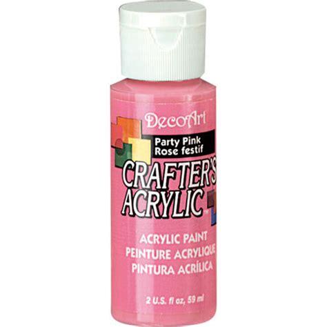 acrylic paint keep pink decoart 174 crafter s acrylic paint basic