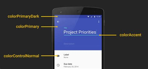 android material design layout shadow android developers blog implementing material design in