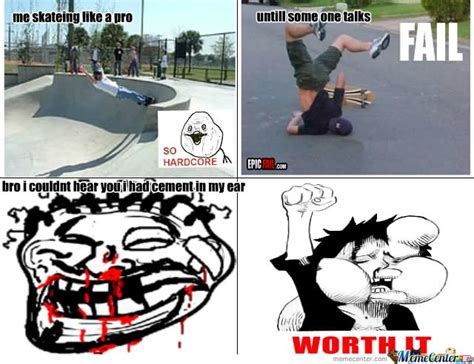Funny Skateboard Memes - 23 funniest skateboarding meme pictures of all the time