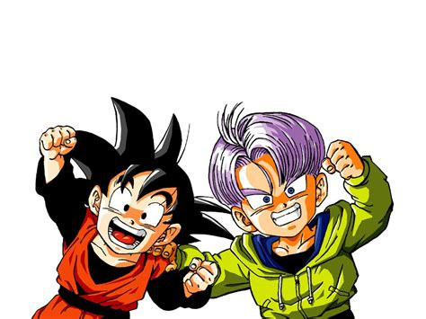 dragon ball z trunks iphone wallpaper goten and trunks wallpaper and background image 1024x768