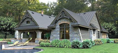 rugged home rugged rustic 3 bedroom home plan