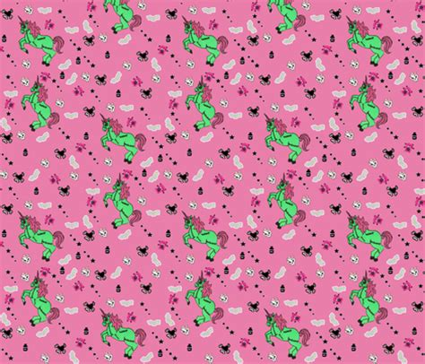 zombie pattern fabric zombie unicorn fabric clb2693 spoonflower