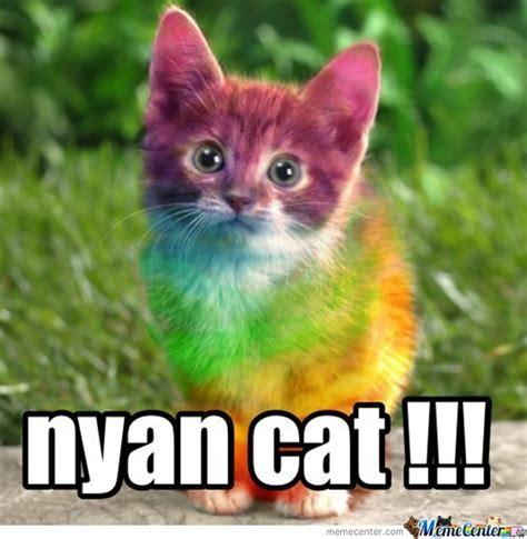 Annoying Cat Meme - nyan cat by bacon pancakes meme center