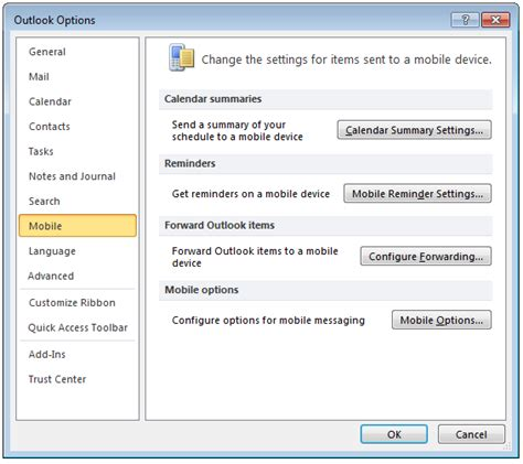 mobile options how to forward email as sms textburst