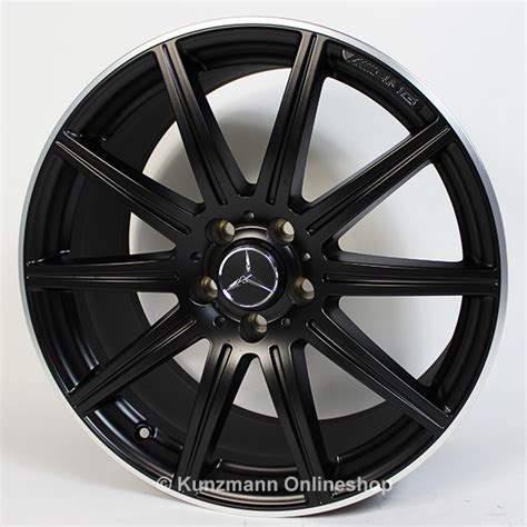 matt rims cls 63 amg 19 inch alloy wheel set 10 spoke alloy wheels