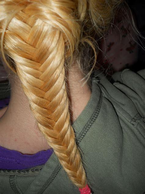 fishbonr breaid hair and makeup mayhem fish bone braid day