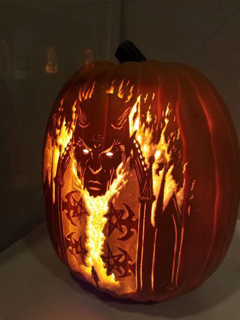 las vegas pumpkin carvers designs bring halloween feel