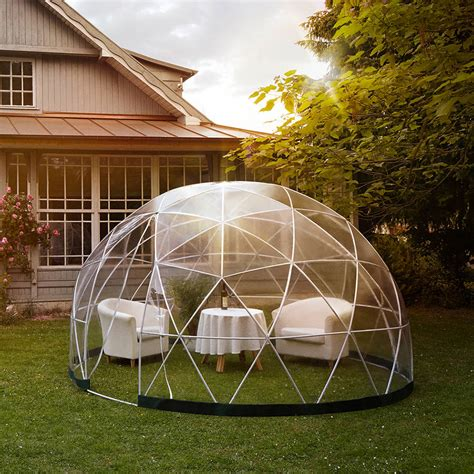 garden igloo garden igloo 360 dome with optional canopy cover by