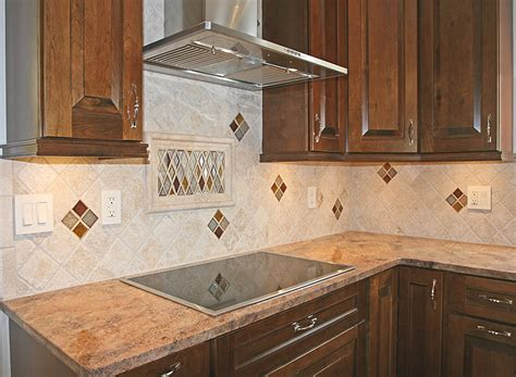 kitchen with tile backsplash kitchen backsplash tile ideas home interior design
