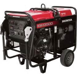 Honda Portable Generators Honda Eb10000 Davr Series Portable Generator 10 000