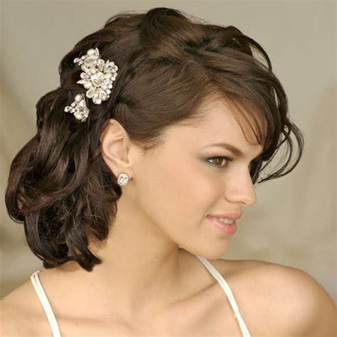 Wedding Hairstyles For Medium Length Hair To The Side by Wedding Hairstyles For Medium Length Hair Weddings