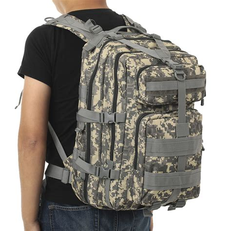 Tas Ransel Tactical Outdoor Backpack 45 Assault Bag Best Quality 45l molle tactical assault pack backpack army molle waterproof bug out bag small