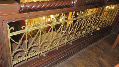 wrought iron accent l 2 piece wrought iron scrollwork railing accent 56 5 quot l x
