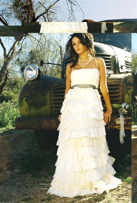 country style wedding dress