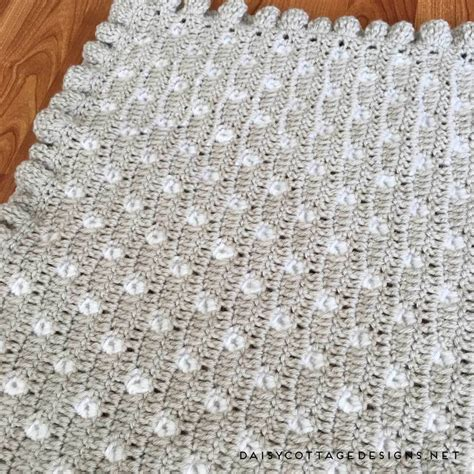 Crochet Baby Blanket Designs by Crochet Baby Blanket Pattern From Cottage Designs