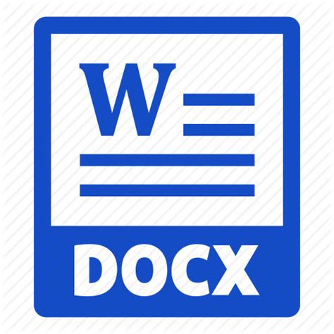 document docx docx file extension file format icon