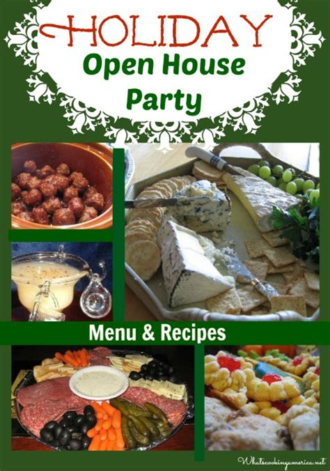 planning an open house party holiday open house menu how to plan a holiday open house christmas open house party