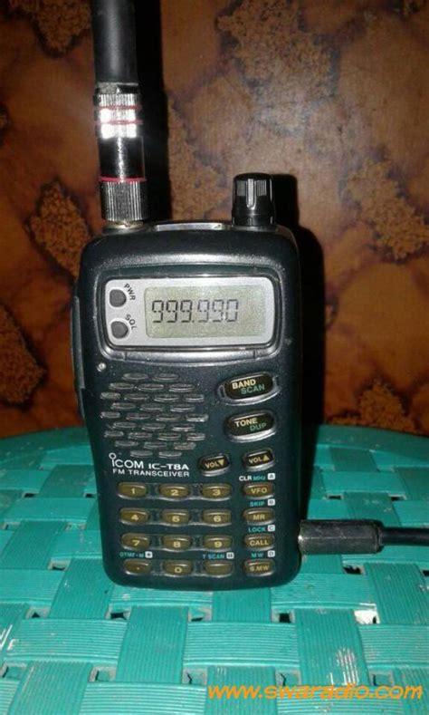 Harga Ht Merk Icom dijual ht merk icom ic t8a batangan tanpa baterai dan