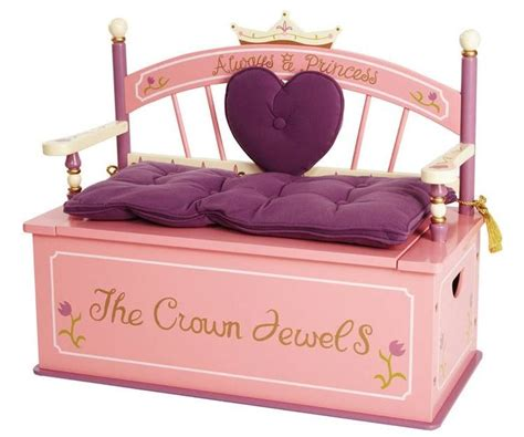 levels of discovery princess toy box bench a kid place furniture toys and essentials for kids of all ages levels of