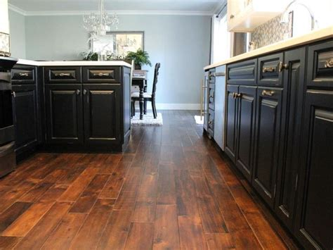 veneer or laminate flooring might be acceptable but a