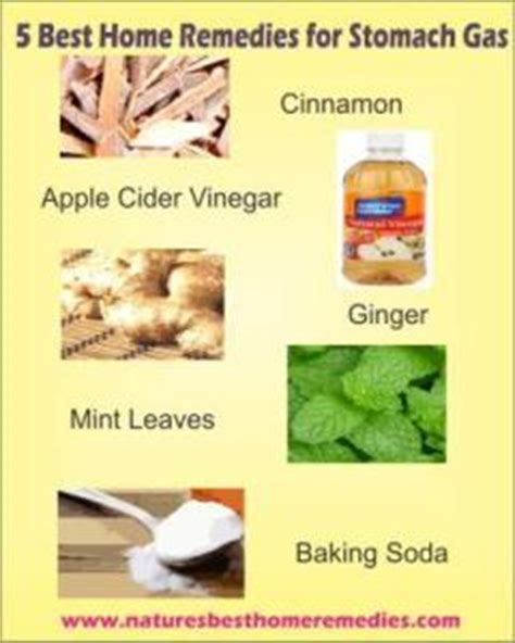 most effective home remedies for gas relief and