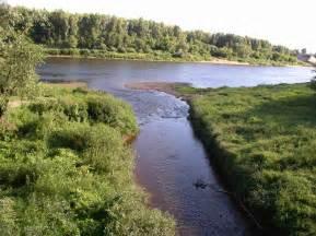 Rivers In File Belarus Junction Of Dzvina And Palata Rivers Jpg