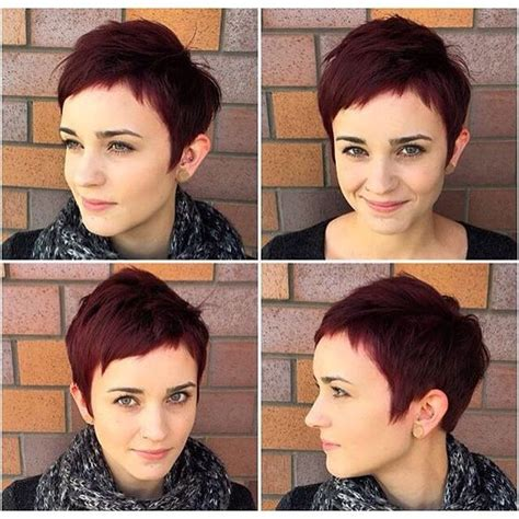 can short pixies be parted opposite growth pattern 30 perfect pixie haircuts for chic short haired women