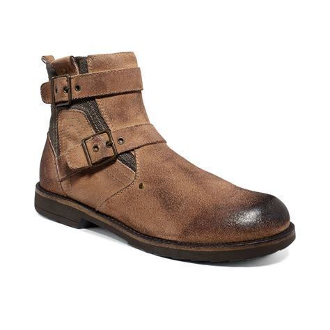 bed stu men s boots bed stu trade boots in brown for men tan suede lyst